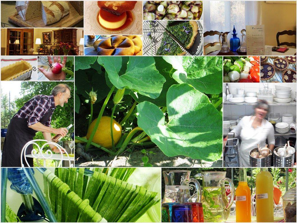 Villa Gaia cuisine savoureuse et colorée du marché
