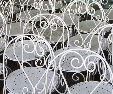 détail décoratif de l'hôtel de charme Villa Gaia à Digne les Bains