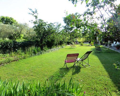 espace, nature, jardin de la Villa Gaia
